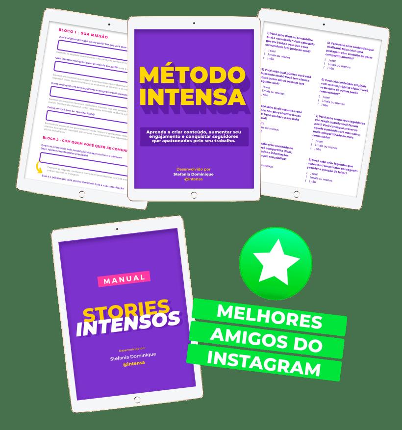 Método Intensa - Melhores amigos no Instagram